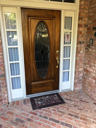 Refinished-door-stained-and-clear-coat-added-